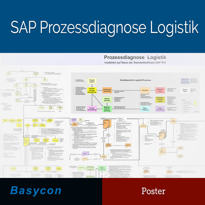 Poster - SAP Prozessdiagnose Logistik